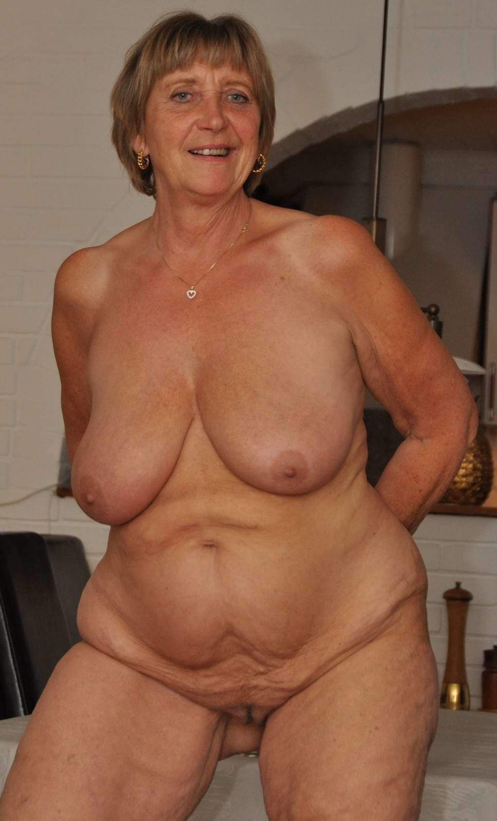 Mature Saggy Breasts