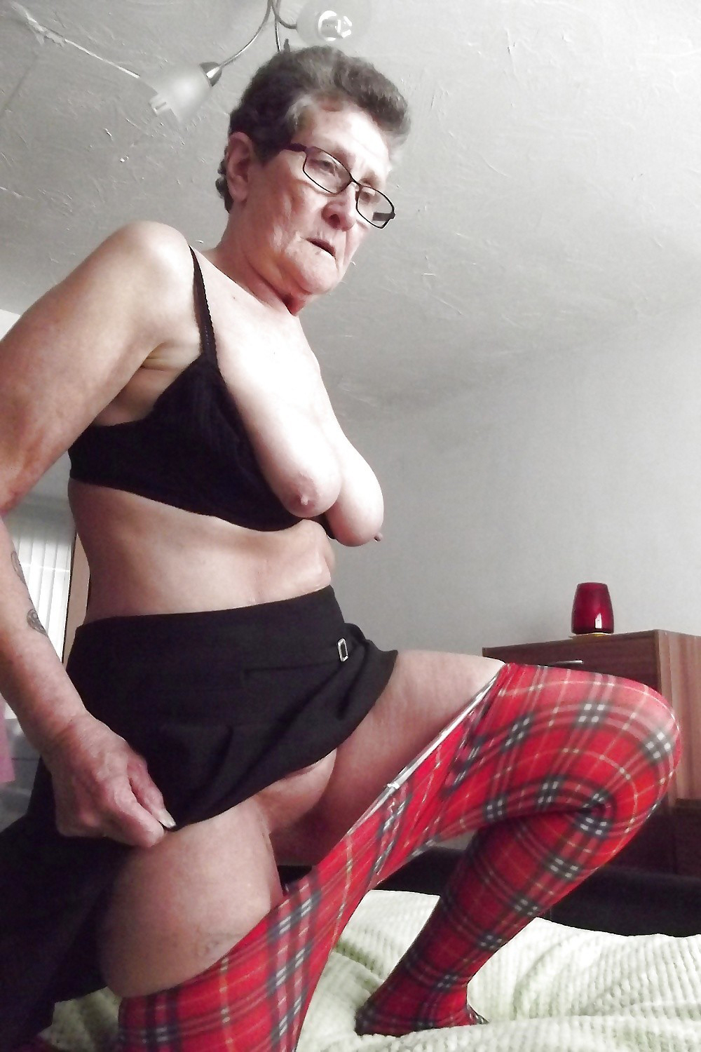 60 years old granny swallows big dick 10